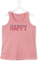Zadig & Voltaire Kids teen Happy print T-shirt