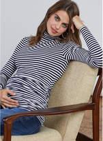 Isabella Oliver Arlington Striped Maternity Turtleneck
