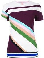 NO KA 'OI No Ka' Oi - geometric pattern T-shirt - women - Polyamide/Spandex/Elastane - XS