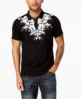 INC International Concepts Men's Splatter-Print Polo, Created for Macy's