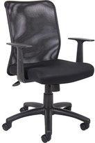 BOSS Black Mesh Office Chair