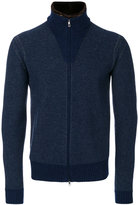 Loro Piana zipped cardigan - men - Silk/Spandex/Elastane/Cashmere/Feather - 48