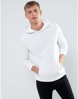 New Look Hoodie In White