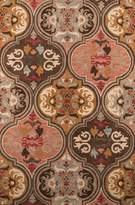 Momeni Rugs TANGITAN10MTI80B0 Tangier Collection, 100% Wool Hand Tufted Tip Sheared Transitional Area Rug