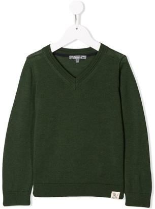 Bonpoint V-neck sweater