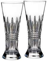 Waterford Lismore Diamond Pilsner Glass, Set of 2