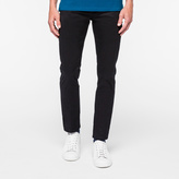 Paul Smith Men's Slim-Fit Black Pima-Cotton Stretch Five-Pocket Trousers