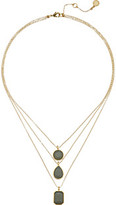 Vince Camuto Triple Layer Pendant Necklace