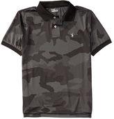 Ralph Lauren Camo Stretch Lisle Polo Shirt