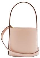 STAUD Bissett Leather Bucket Bag - Womens - Light Pink