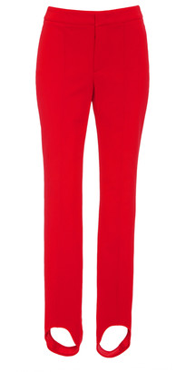 MONCLER GRENOBLE Mid-Rise Stirrup Stretch-Twill Leggings