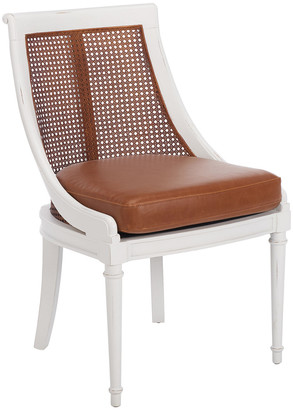Safavieh Couture Saylor Leather Accent Chair