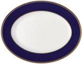 """Wedgwood Renaissance Gold 13.75"""" Oval Platter"""