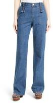 See by Chloe Women's Wide Leg Denim Trousers