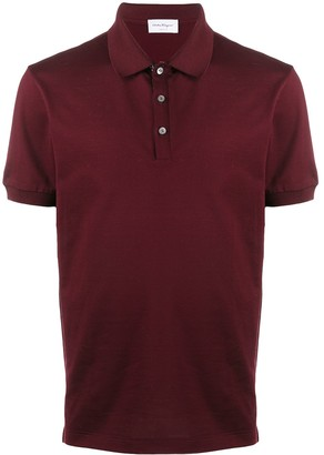 Salvatore Ferragamo Short Sleeve Polo Shirt
