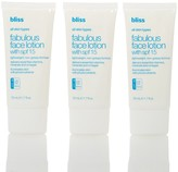 Bliss Professional Size Fab Face Lotion SPF15 - 3 Pack