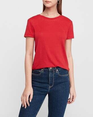 Express Crew Neck Easy Tee