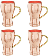 Old Dutch Soda Fountain Style Moscow Mule Mugs (Set of 4) Moscow Mule Mugs, (L, UL, CBH)