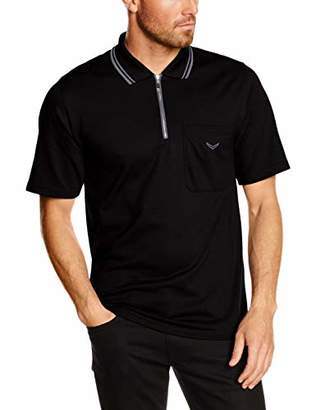 Trigema Men's 627633 Polo Shirt, (Black 008)