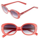 Quay Women's Lulu 49Mm Sunglasses - Black/ Smoke