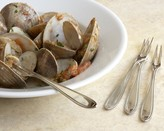 Williams-Sonoma Piazza Seafood Forks, Set of 4