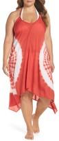 Plus Size Women's Elan Tie Dye Cover-Up Dress
