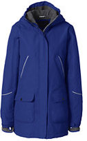 Lands' End Women's Squall Parka-Red