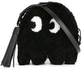 Anya Hindmarch 'eyes' small crossbody bag - women - Leather/Sheep Skin/Shearling/Nappa Leather - One Size