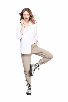 Dex women's 1623255 D Long Sleeve 2 Pocket Blouse