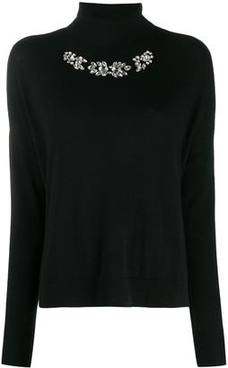 Liu Jo rhinestone-embellished jumper