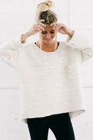 Joah Brown - Always Pullover Sweater In Bone