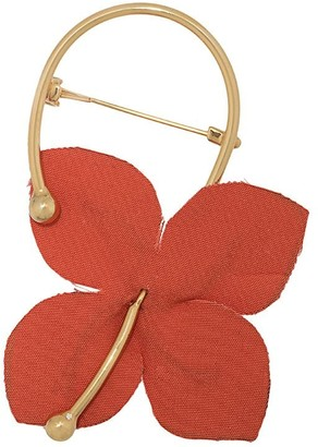 Marni Flora flower brooch