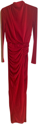 House Of CB Red Synthetic Dresses