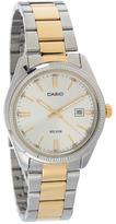 City Beach Casio Ss Silver/gold Watch