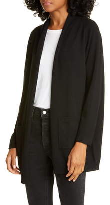 Allude Wool & Cashmere Open Cardigan