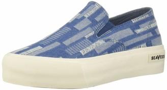 SeaVees Women's Baja Platform Embroidery Sneaker