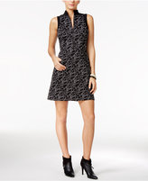 GUESS Adalia Printed Fit & Flare Dress