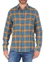 Dockers WRINKLE TWILL Blue / Yellow