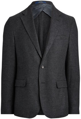 Polo Ralph Lauren Soft-Fit Wool Single-Breasted Jacket