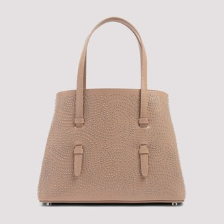 Alaia Mina 25 Studded Top Handle Bag