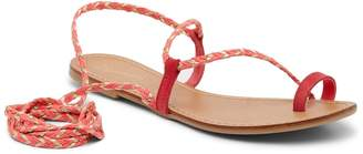Seychelles Glory Suede Wrap-Around Ankle Strap Sandal