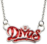 "WWE Divas Logo Bling Pendant with Chain (18"" + 2"" ext.)"