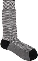Haider Ackermann Chevron Jacquard Socks