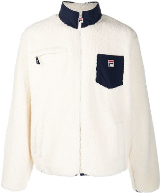 Fila Funnel-Neck Fleece Jacket
