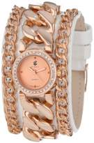 Rocawear Women's RL0116RG1-471 Stylish Bracelet Enamel Bezel Watch