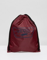 Vans League Drawstring In Burgundy V002W68AA