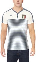 Puma FIGC Italia Henley T-Shirt