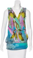 Matthew Williamson Silk Sleeveless Top w/ Tags