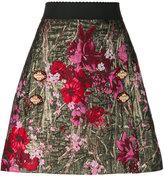 Dolce & Gabbana floral jacquard A-line skirt - women - Silk/Polyamide/Polyester/Spandex/Elastane - 38