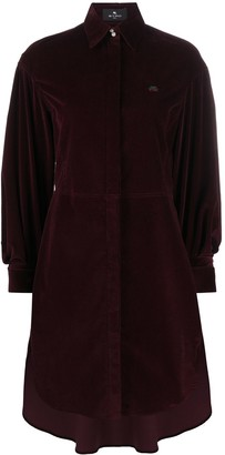 Etro Corduroy Shirt Dress